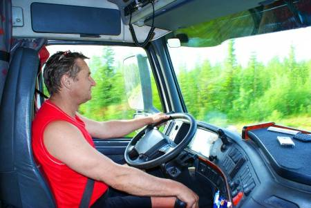 Ok Alone keeps a trucking company in touch with their staff on the move