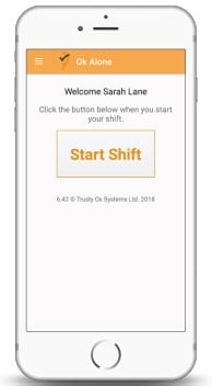 Your lone workers want a way to check-in that is quick and easy. No fuss. No hassle.
