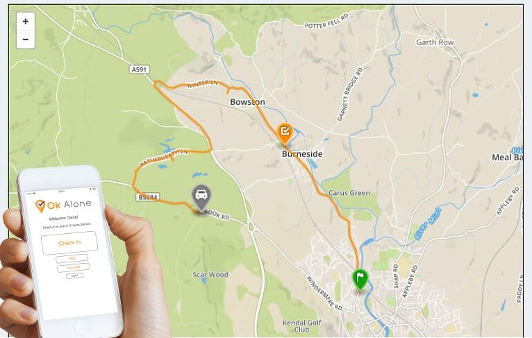 GPS tracking for your Lone Workers