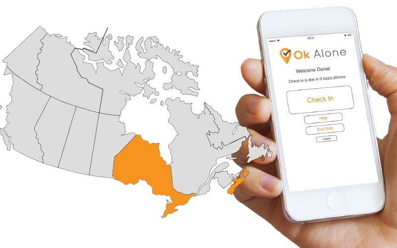 Ontario and Nova Scotia lone worker legislation and regulations