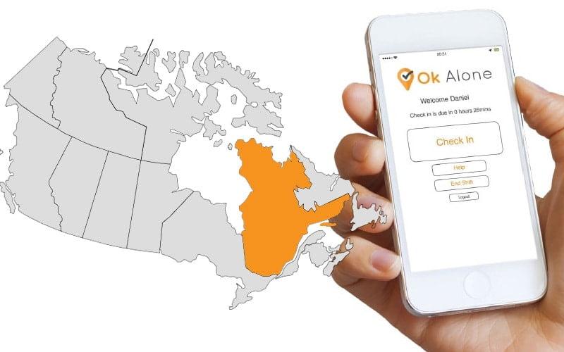 Quebec lone worker legislation and regulations