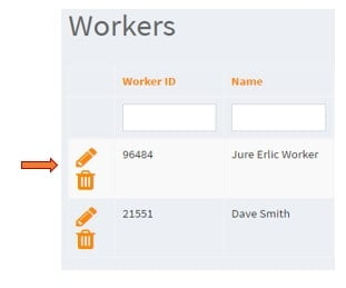 SMS and phone call reminder settings for Workers step 1