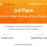 Lone Worker Certificate