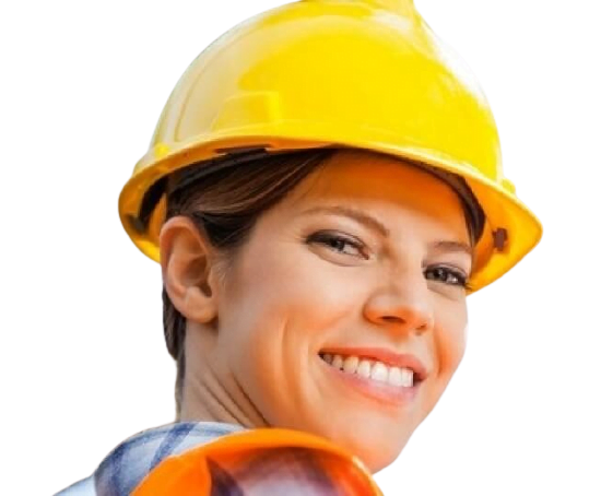 women smiling as she has a lone worker safety solution