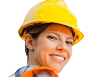 man down app for a female worker