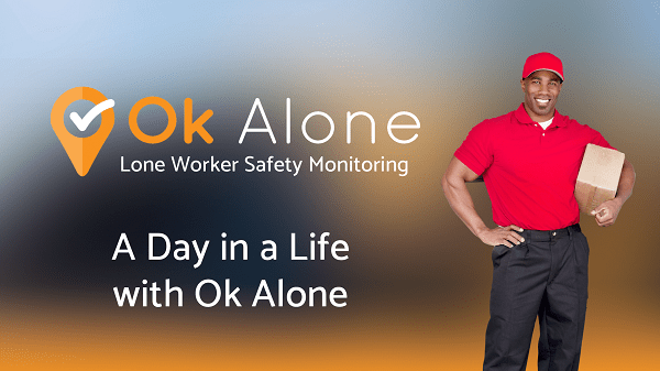 A Day in a life of Ok Alone Lone Worker App